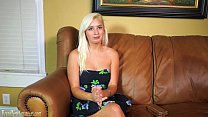 Big Boobs Teen Hottie Gets Wild On A Casting Couch