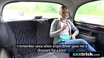 Cute Czech Teen Knows How To Get Free Taxi Ride