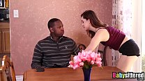 Teen babysitter Kasey Warner pounded deeply by ...