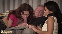 He fucks them and cums in their mouths after a ... Thumbnail
