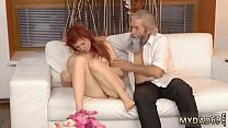 Old man young girl sex Unexpected experience wi...
