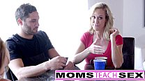 MomsTeachSex - Hot Mom & Teen Friends Orgy Fuck With Neighbor Preview