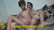 Short Haired Asian Exhibitionist