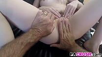Dolly Leigh Gets Punished By Her Dad's Thumb