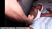 8469 Naughty Santa fucks his black ass ebony girl neighbour preview