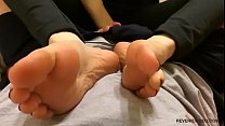 Cum On Nice Red Toes - POV