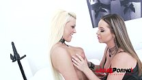 Big butt sluts Roxy Black & Rachel Richey anal DP & DVP(double pussy) with 2 cocks SZ1066
