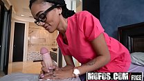 18650 Mofos - Ebony Sex Tapes - Big Booty Nurse Heals Sick BF starring  Julie Kay preview