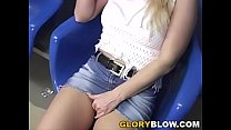 Jessica Dee Sucks Black Dick At Gloryhole