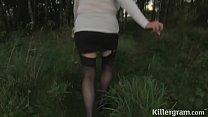 granny dogging slut alisha rhydes is addicted to sucking off cocks in public & sex video sister thumbnail
