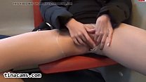 pantyhose teen masturbates on a train-tinacams.com Preview