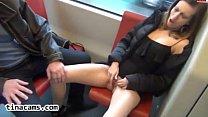 pantyhose teen masturbates on a train-tinacams.com