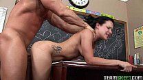 Xxxgujarati - freckled cutie Katie Stives gets her trimmed pussy fucked hard thumbnail