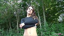 GERMAN SCOUT - Instagram Fitness Teen Model aus Köln bei Strassen Casting für Geld gefickt Vorschaubild