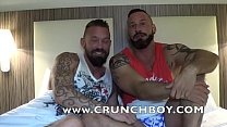 barebck sextape with Antonio MIRACLE and Stephane RAW