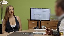 LOAN4K. Suzie Sun takes blouse off and gives titjob to loan manager thumbnail
