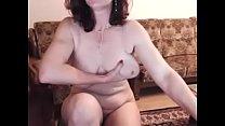 hot 48 yo russian mature maria play in skype Image