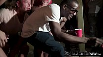 BLACKEDRAW Four College Girls In INSANE BBC Gangbang - 69VClub.Com