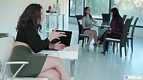 Anal at the Office - Abella Danger and Angela White thumbnail
