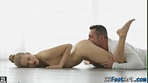 Ballerinas feet cumshot video