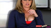 Cory Chase and Bailey Brooke horny threesome session صورة