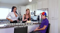 BANGBROS - Juan El Caballo Loco Gets MILF Reagan Foxx For His Birthday video