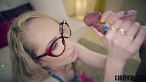 Candy May - Blde stroking BBC and cock worship - 9Club.Top