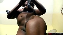 Chubby ebony shedoll exposes massive ass and perfect bigtits video