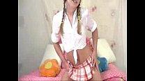 Blondelil19yo (Sassy) full schoolgirl scene | M... Thumbnail