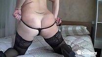 MILF Zlata Plays With Her Chunky Body