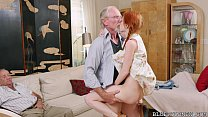 Screenshot Pigtailed Redhead Teen Fucked By 75 Year Old