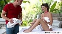 LoveHerFeet - Riley Reid In The Hottest Foot Fu... Thumbnail