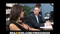 Big-tit brunette MILF Lisa Ann decides to settle out of court video
