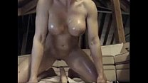 Hot Blonde Rides Dildo on Cam with wet tits -tinycam.org