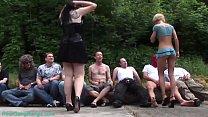 wild german girls extreme party banged's Thumb