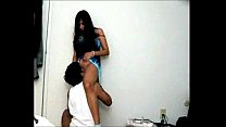 desi girl licked in standing position by bf thumbnail