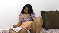 Sexy South Indian Tutor roleplay in Hindi thumbnail