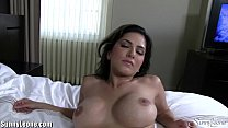 Sunny Leone at a luxuruous hotel in white lingerie pornhub video