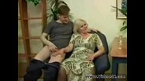 Mature Mother and Son Sex's Thumb