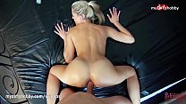 MyDirtyHobby - Amateur hot blonde public anal c...