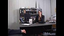 Veronica As A Secretary