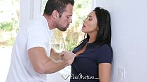 PureMature - Audrey Bitoni gets a hole-in-one with Johnny Thumbnail
