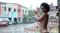 7670 Under the Rain in Lost Place. Jason Steel Facefuck Stacy Bloom Outdoor and Hard Fuck preview
