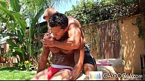 Hot Buff Stud Oily Massage
