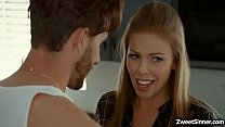 Flirty MILF Britney Amber and stepson Lucas Frost cant help themselves but to fuck each other every time they want.