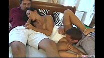 Sandra Romain with Ian Scott & Steve Holmes