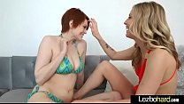 (Karla Kush & Bree Daniels) Lesbians Girls Play In Sex Act On Camera clip-15