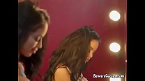 Horny Showgirl Victoria June Seduces Her Manager