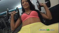 Kelly Diamond - Gym-Slut Gets Eaten Out and Fucked Doggystyle - I Know That Girl thumbnail