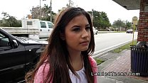 Picked up at bus stop teen banged in car with s...